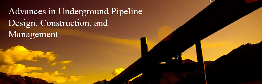 Advances in underground pipeline design, construction, and management.